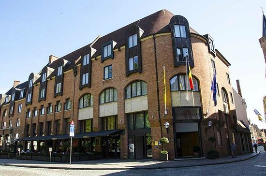 Crowne Plaza Brugge: The Hotel