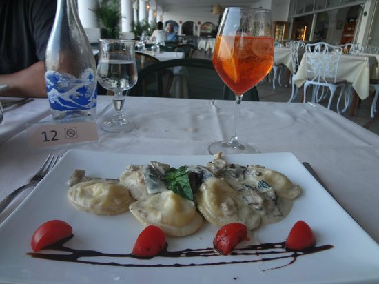 Hotel Pupetto : ravioli caprese