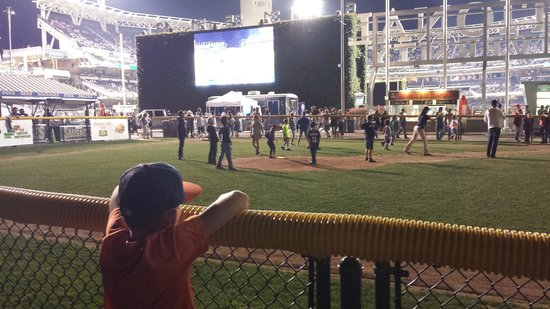 Petco Park: Lots to do and see around the park.