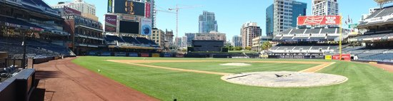 Petco Park : Do the tour to get on the field and go behind the scenes.