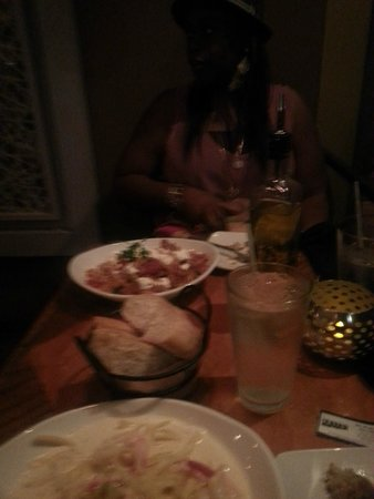 BRAVO! Italian Restaurant & Bar : Our table
