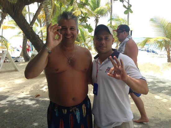 Hotel Riu Palace Bavaro: My diving instructor Rafael Travarez