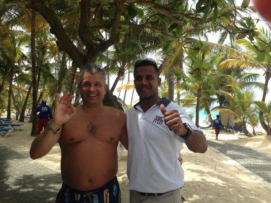 Hotel Riu Palace Bavaro: The Boss of Scuba Caribe Juan Carlos