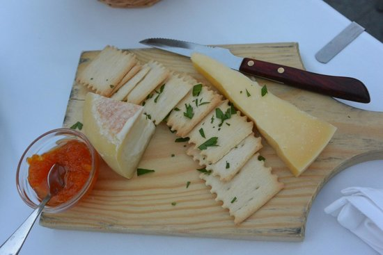Solar Moinho de Vento: plateau de fromage