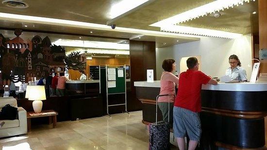 Ambasciatori Hotel: Recepção do hotel