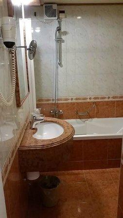 Hotel Ambasciatori: Banheiro de bom gosto