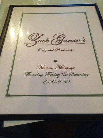 Newton, MS: Menu