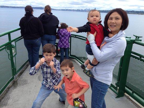 Washington State Ferries: family