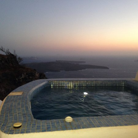 Angels & Stars Suites and SPA : Private jacuzzi