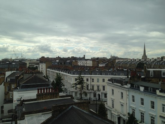 The Belgrave: View from Room!