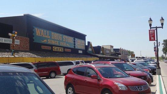 Wall Drug: Beautiful downtown Wall SD