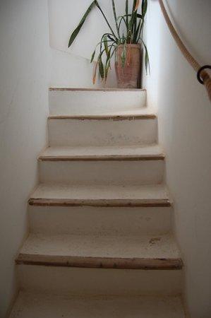 Riad Baladin: Treppenaufgang