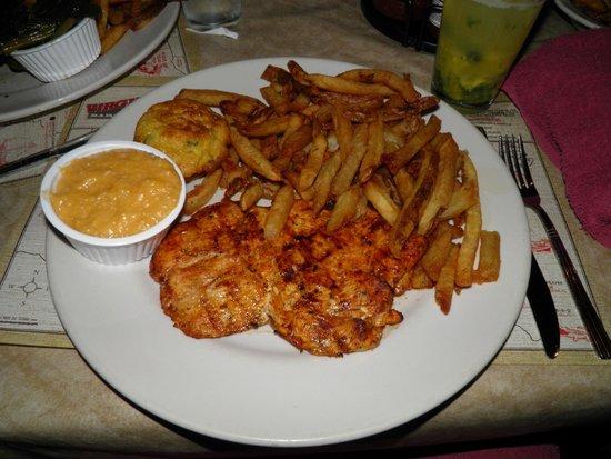 Virgil's Real Barbecue-Time Square : La poitrine de poulet