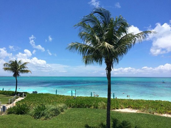 Coral Gardens on Grace Bay: View from our Suite