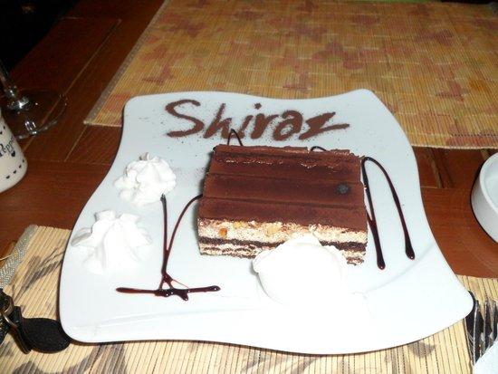 Shiraz Eat and Drink: Tiramisu