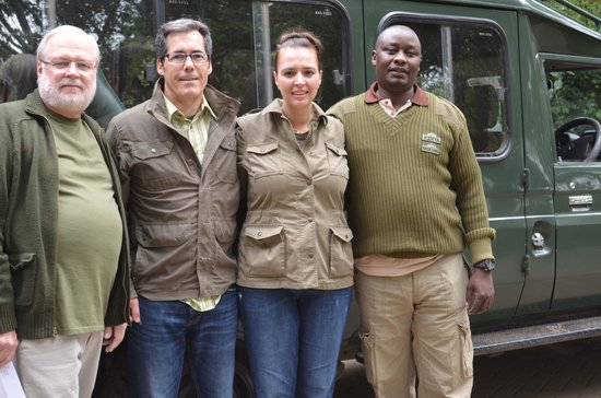Go Kenya Tours and Safaris: Our guide Tony