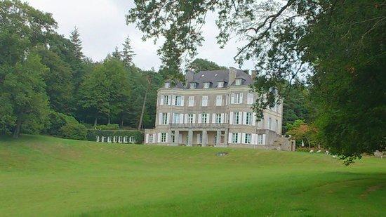 Château de Locguénolé : Vue du parc