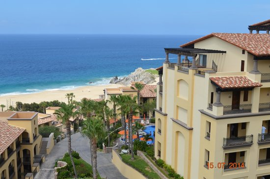Pueblo Bonito Sunset Beach Golf & Spa Resort: View from Top of Sunset