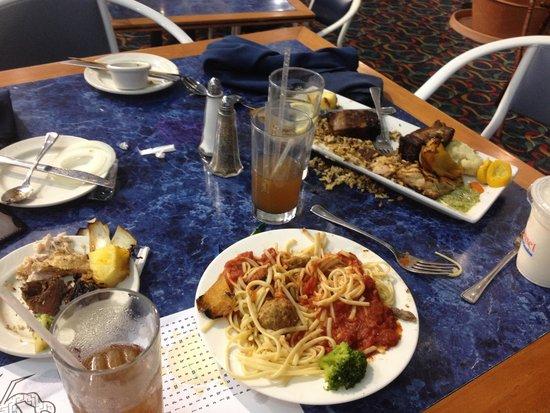 Carousel Resort Hotel & Condominiums: What I left after sending 1 dinner back