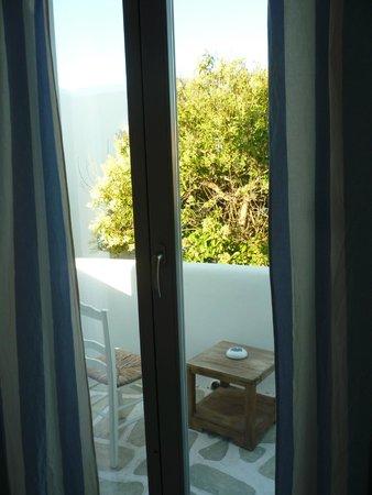 Paros Bay Hotel: balcon