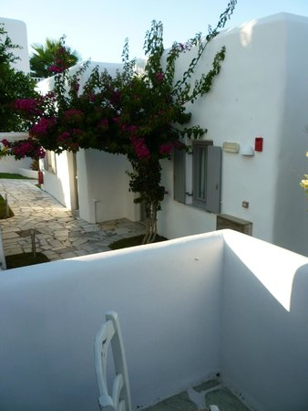Paros Bay Hotel : balcon