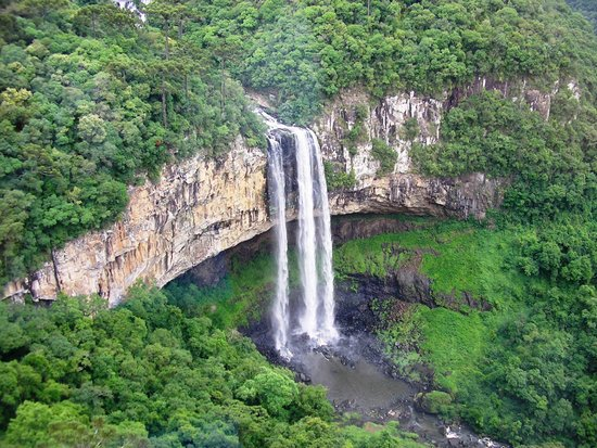 Caracol State Park : cascata