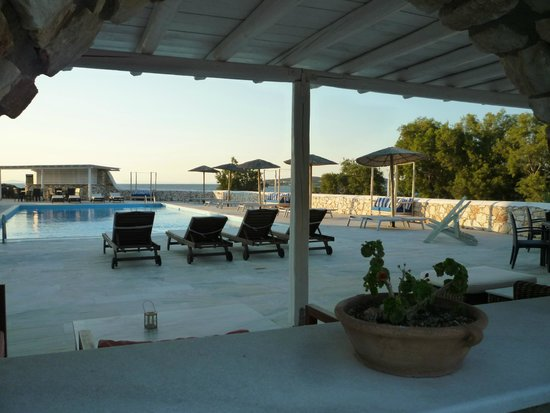 Paros Bay Hotel : piscine