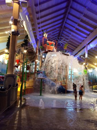 Great Wolf Lodge - Water Park: One side.