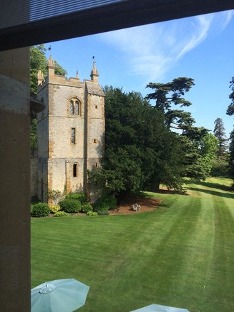 Ettington Park Hotel: View from room