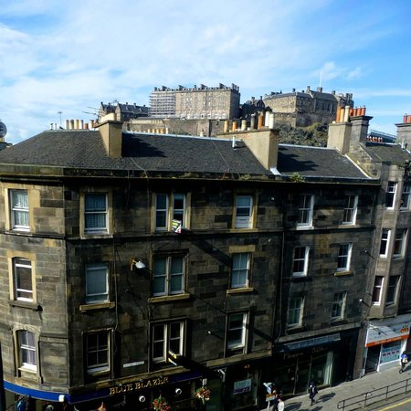 View From The Skybar Picture Of Doubletree By Hilton Hotel Edinburgh City Centre Edinburgh