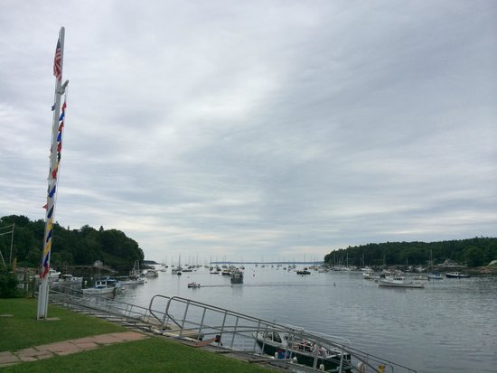 Rockport, ME: View from the boat club