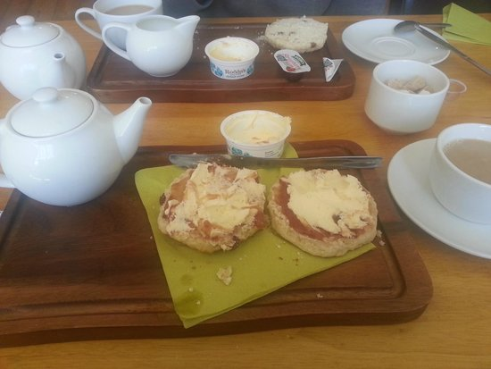 Nothe Fort: Cream tea