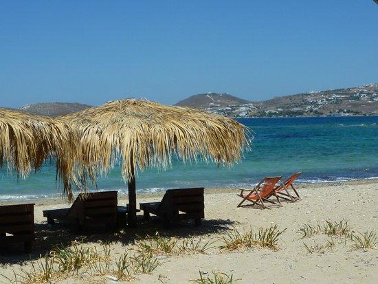 Paros Bay Hotel: plage