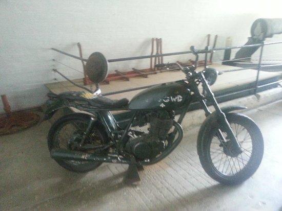 Nothe Fort: Motorbike