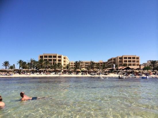SENTIDO Rosa Beach : view from the sea.