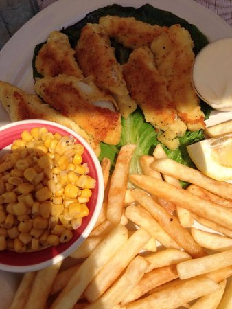 Suzys Diner: Pan fried lake perch