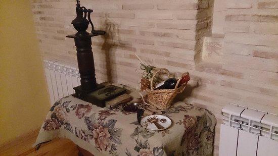 Casa Valero: Detalle del comedor