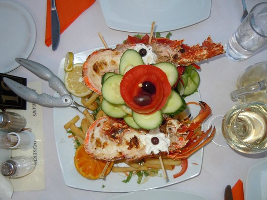 Athina : Best lobster ever