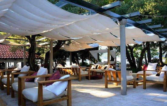 Villa Ruza Old City Bistro: The lounge area