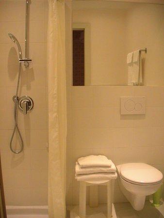 Hotel Bernina: туалет