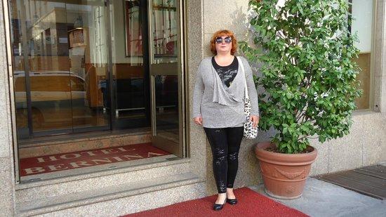 Hotel Bernina: у входа в отель