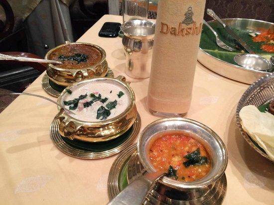Dakshin: Tomato Pappu Dal, Mutton Erachi Stew and Kazhi Melagu
