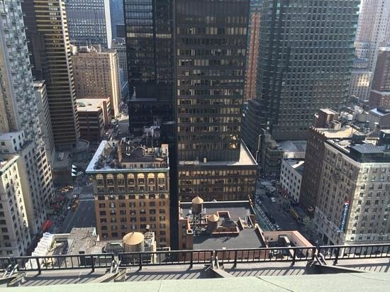 The Manhattan Club: a view from one of the penthouse terraces