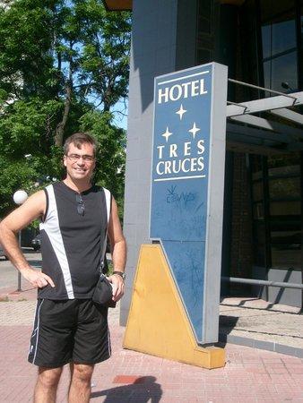 Hotel Tres Cruces: Entrada do hotel