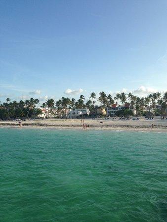 Ocean Adventures Punta Cana - Dr Fish Ocean Spa: Returning to shore
