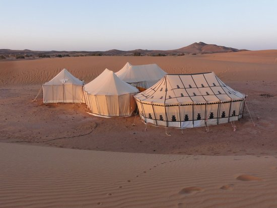 Desert Luxury Camp : Desert Camp Erg Chebbi