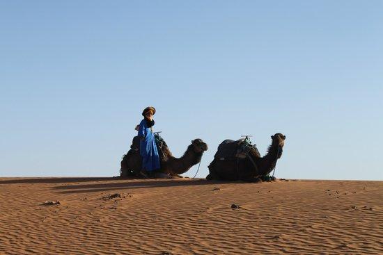 Desert Luxury Camp : Bob Marley and Jimmy Hendrix waiting for us