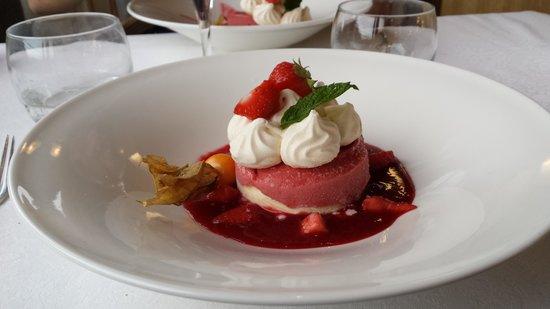 BEST WESTERN Beau Site Notre Dame : Dessert restaurant
