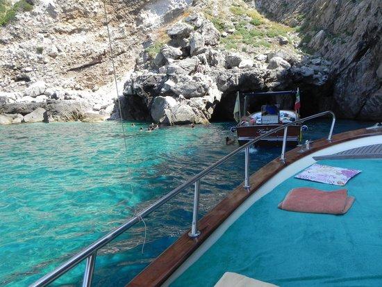 Blaue Grotte (Grotta Azzurra): Badebucht