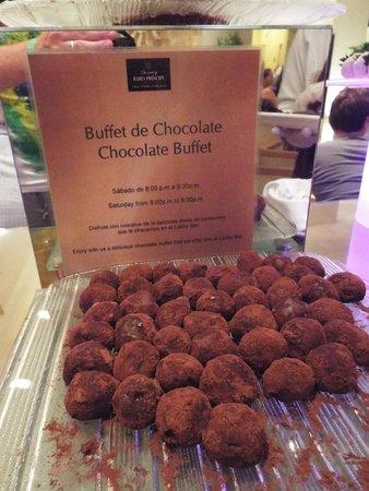 Luxury Bahia Principe Sian Ka'an Don Pablo Collection: Chocolate Buffet